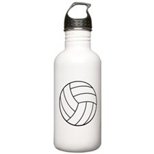 VOLLEYBALL {22} : white Water Bottle
