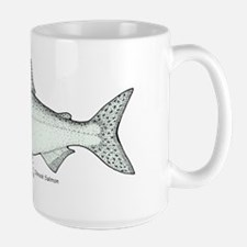 Chinook Salmon Large Mug