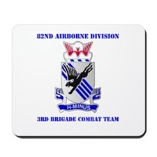 DUI - 3rd BCT with Text Mousepad