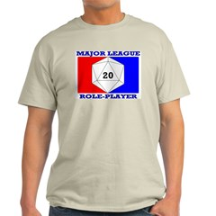Major League Role-Player Ash Grey T-Shirt