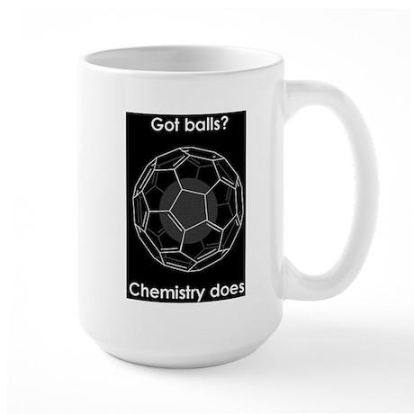 Buckyball Got Balls-Chemistry Does Coffee Cup Mug