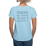 Vet School Checklist Women's Light T-Shirt