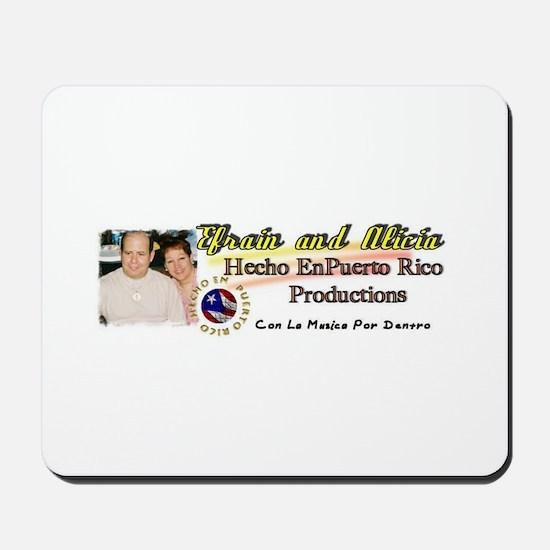 Hecho En Puerto Rico Productions Mousepad