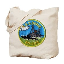 USS BORIE Tote Bag