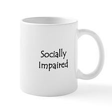 Socially Impaired Mug