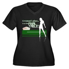 A Woman's Place is at The Final Table Poker Graphi