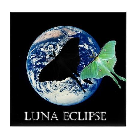 Luna Eclipse Tile Coaster