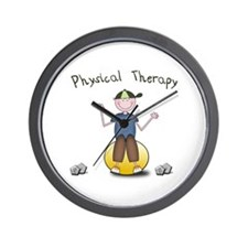 PT Therapy Ball (Boy) Wall Clock