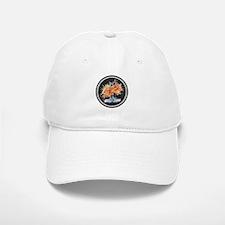 Watercolor Dragonfly Lotus Baseball Baseball Cap