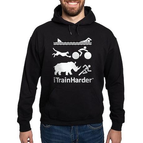 iTrainHarder Hoodie (dark)