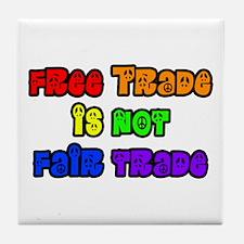 Cute Trade fair Tile Coaster