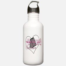Twilight Insipred Navy Water Bottle