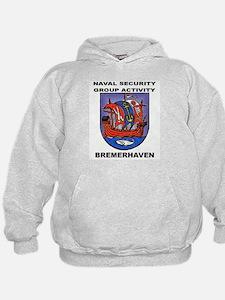 NAVAL SECURITY GROUP ACTIVITY, BREMERHAVEN Hoodie