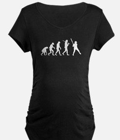 The Evolution Of The Softball Batter T-Shirt
