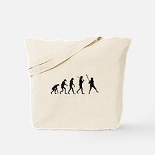 The Evolution Of The Softball Batter Tote Bag