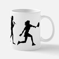 The Evolution Of The Woman Tennis Player Mug
