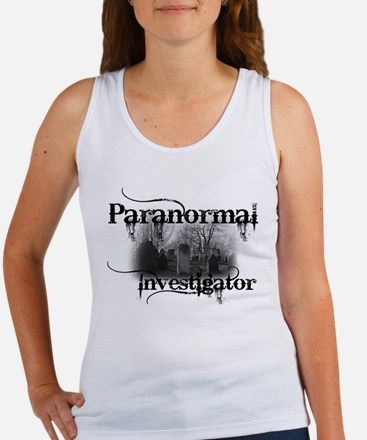 paranormal investigator light Tank Top