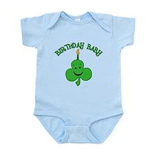 Birthday Baby St Pat's Day Infant Bodysuit