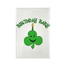 Birthday Baby St Pat's Day Rectangle Magnet