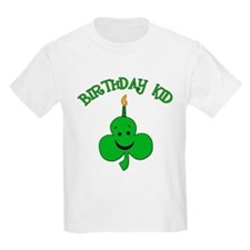 Birthday Kid with Happy Shamrock T-Shirt