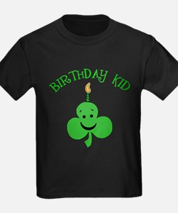 Birthday Kid with Happy Shamrock T