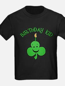 Birthday Kid with Happy Shamrock T