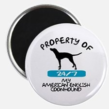 American English Coonhound Magnet