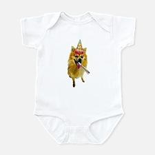 Pomeranian Birthday Infant Bodysuit
