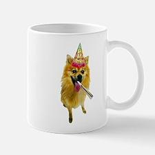 Pomeranian Birthday Mug