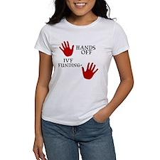 Hands Off IVF Funding Tee