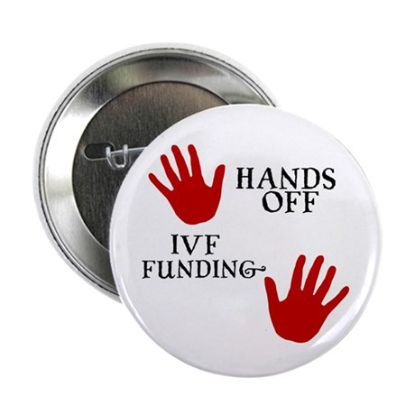 Hands Off IVF Funding Button