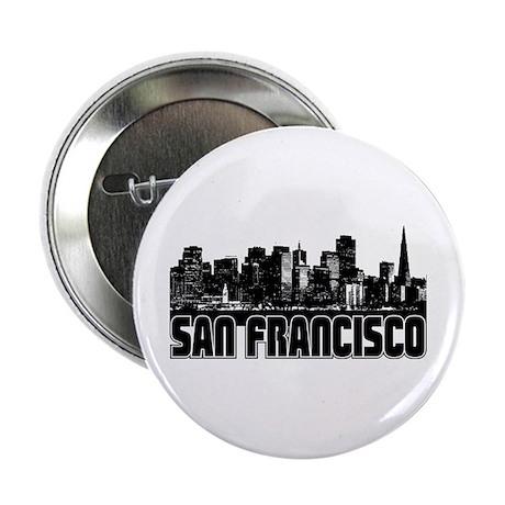 "San Francisco Skyline 2.25"" Button"