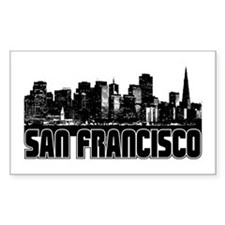 San Francisco Skyline Decal