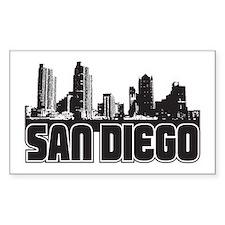 San Diego Skyline Decal