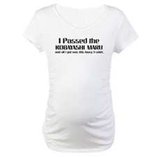 I Passed the Kobayashi Maru Shirt
