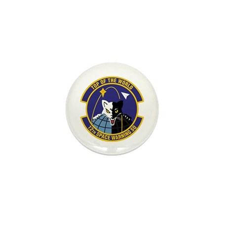 12th Space Warning Mini Button (10 pack)