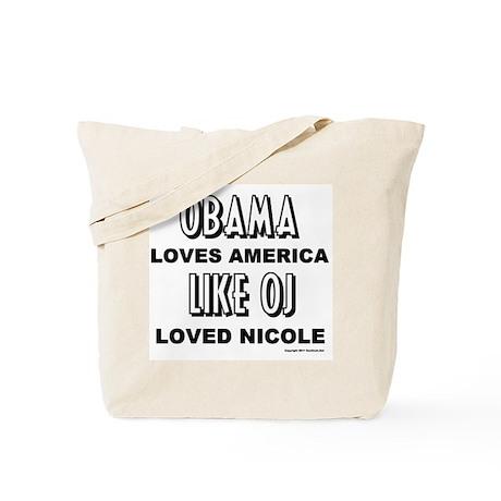 Obama & OJ Tote Bag