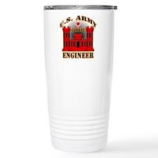 US Army Combat Engineer Travel Coffee Mug