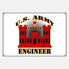 US Army Combat Engineer Banner