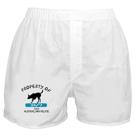 Australian Kelpie Boxer Shorts