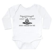 Culpeper Flag Long Sleeve Infant Bodysuit