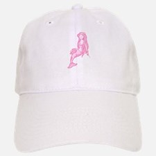 Pink Mermaid Baseball Baseball Cap