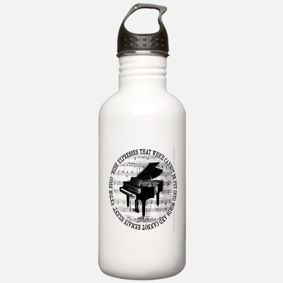 Cute Music notes Water Bottle