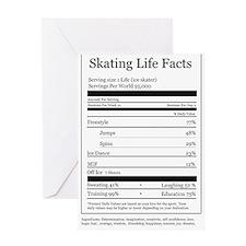 Skating Life Facts Greeting Card