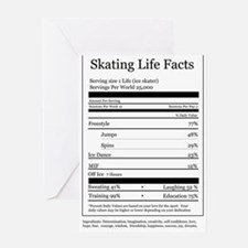 Skating Life Facts Greeting Card