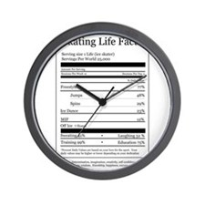 Skating Life Facts Wall Clock