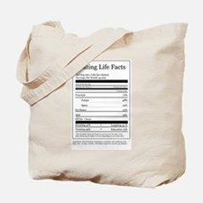 Skating Life Facts Tote Bag