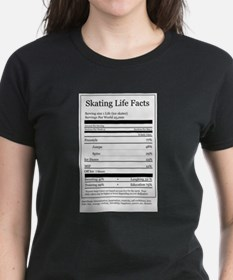 Skating Life Facts Tee