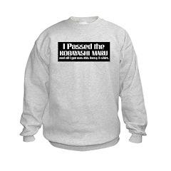 I Passed the Kobayashi Maru Sweatshirt
