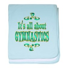 About Gymnastics baby blanket